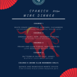 Spanish Wine Dinner Event